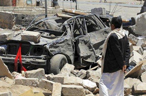 Mit Kampfjets gegen Huthi-Rebellen