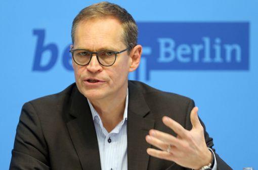 Berlin-Bürgermeister Michael Müller kontert Boris Palmer