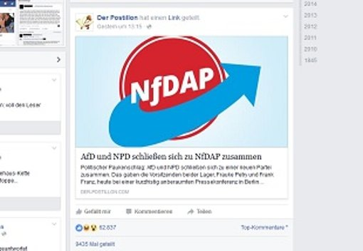 NfDAP: Machen AfD und NPD gemeinsame Sache?