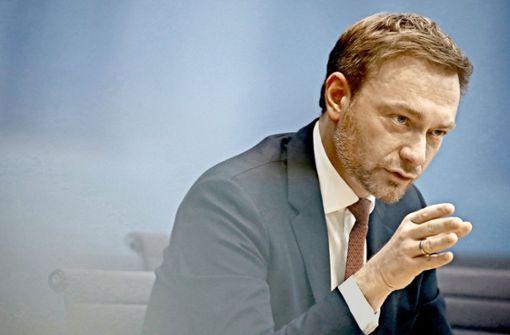 Christian Lindner (FDP) Foto: AFP