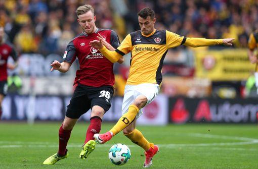 Dynamo Dresden stellt Ex-VfB-Spieler bis Jahresende frei