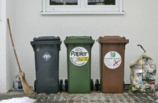 Müllabfuhr rund um den Jahreswechsel