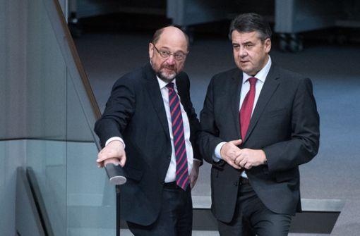Gabriel wirft SPD-Führung Wortbruch vor