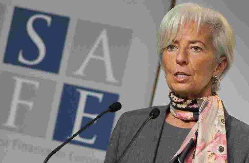 Lagarde bleibt bei Konjunktur skeptisch