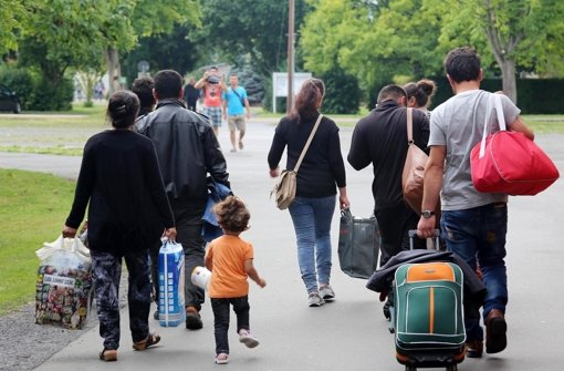Wohin mit den Flüchtlingen? Foto: dpa