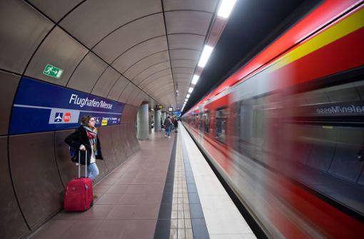 Bauarbeiten schneiden Airport  von S-Bahn ab