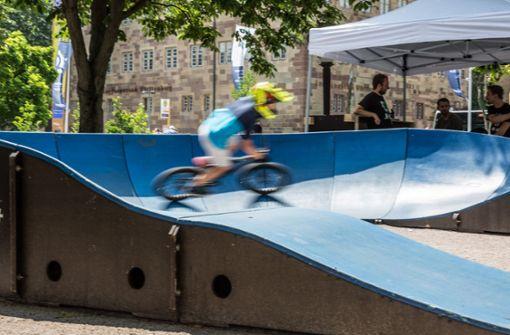 Fahrraddarbietungen aller Art Foto: Lichtgut/Julian Rettig