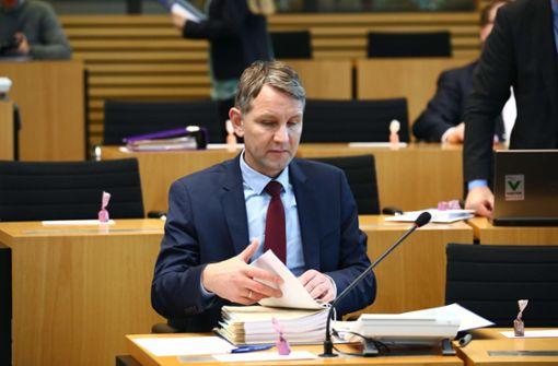 Thüringer Landtag hebt Immunität von AfD-Politiker auf