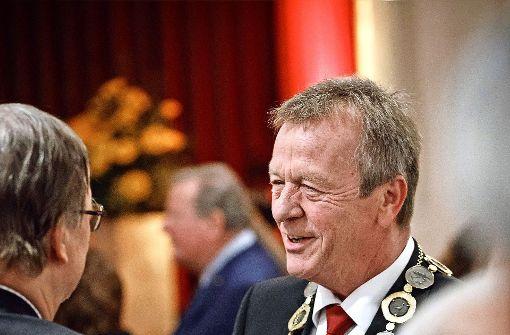 Zu seinem Abschied wird Jürgen Oswald bejubelt