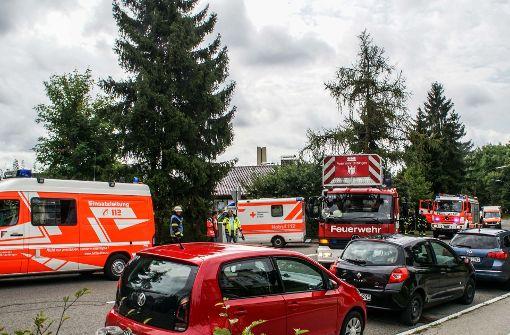 Großeinsatz für Feuerwehr und Rettungsdienst