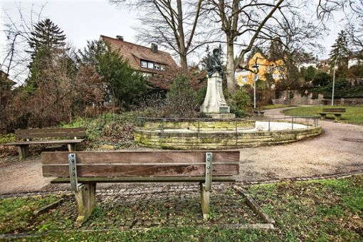 Der Lenau-Park wurde nach einem Gedicht gestaltet