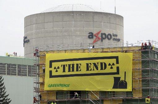Schweizer gegen schnellen Atomausstieg
