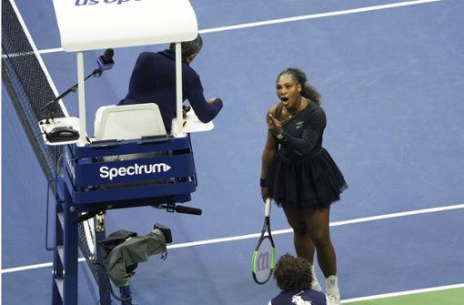 Serena Williams wirft Schiedsrichter Ramos Sexismus vor