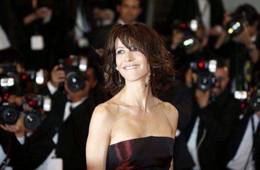 Die französische Schauspielerin Sophie Marceau Foto: dpa