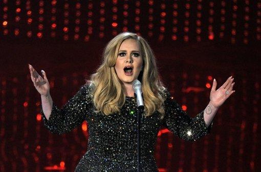 Sängerin Adele ist mit 27 Jahren ganz oben angekommen. Foto: