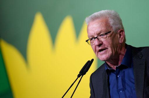 Kretschmann sorgt sich um Tier- und Pflanzenwelt