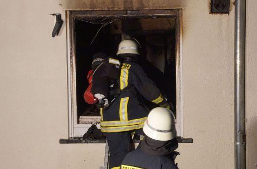 Wohnungsbrand mit hohem Schaden