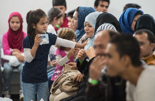 Zahl der Flüchtlinge sinkt deutlich