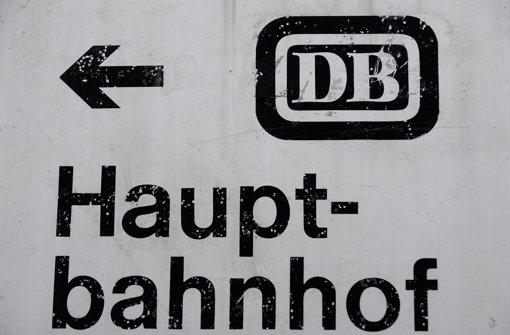 Die Bahn steht weiter zu Stuttgart 21 Foto: dpa