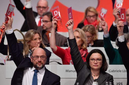 Wer spielt welche Rolle in der SPD?