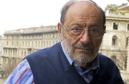 Der italienische Schriftsteller Umberto Eco starb im Alter von 84 Jahren. Foto: Archiv/dpa