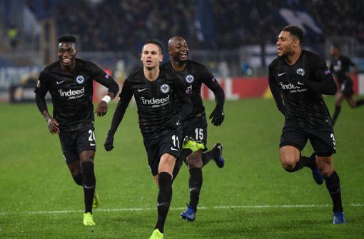 Frankfurt siegt sich zum Europa-League-Rekord
