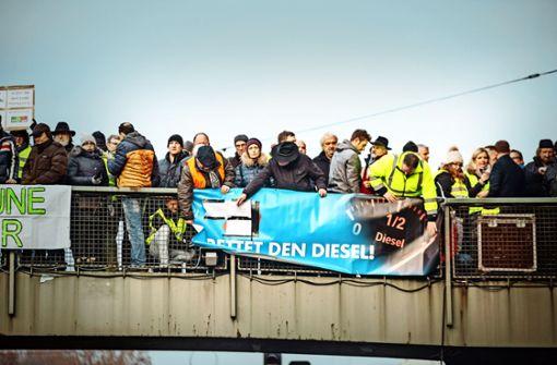 Veranstalter will   Diesel-Demo ohne Parteien
