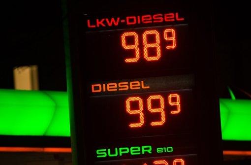 Dieselpreis weiter im Sinkflug