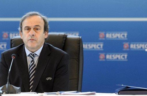 Uefa-Präsident Michel Platini. Foto: dpa