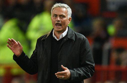 José Mourinho steht bei Manchester United unter Druck. Foto: AFP