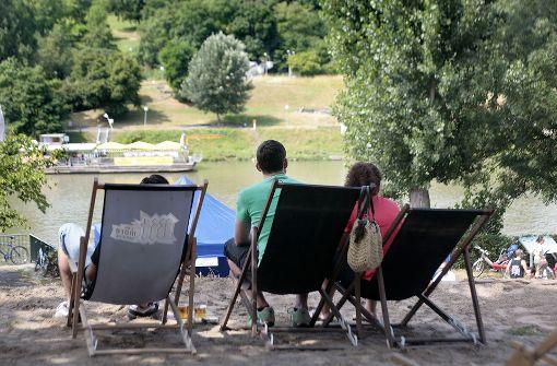 Neckarufer soll zum Verweilen einladen