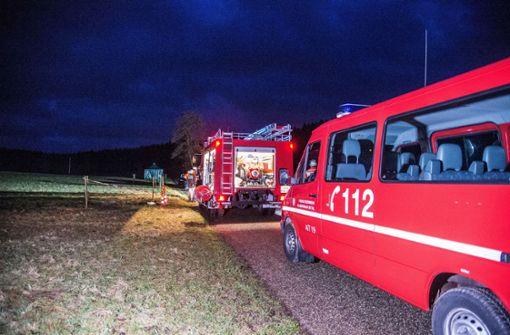 Die Feuerwehr Kaisersbach rückt am Sonntagnachmittag mit mehreren Einsatzwägen aus. Foto: SDMG