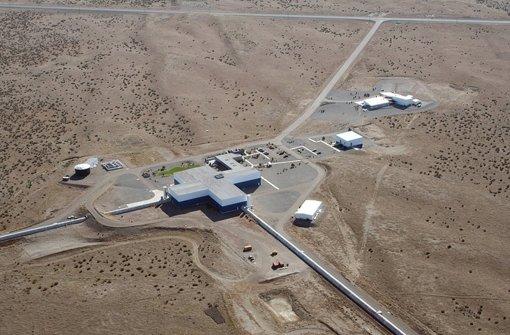 Die Anlage des Ligo-Detektors in Hanford,  USA.   Foto: dpa
