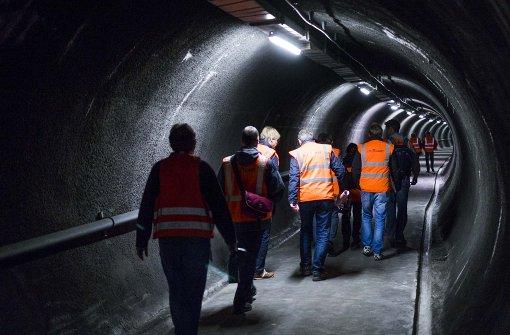Den  Heslacher Tunnel gibt es seit 25 Jahren. Foto: Lichtgut/Max Kovalenko