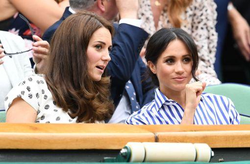 Meghan und Kate drücken Serena Williams die Daumen