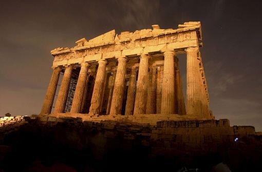 Griechenland: Bis zum Hals