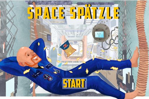 In der Raumstation mit Astro-Alex