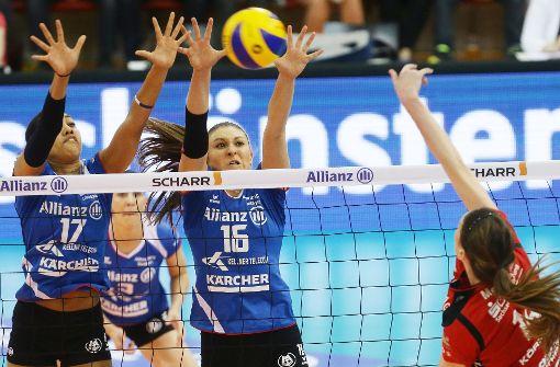 Volleyballerinnen kämpfen um Einzug ins DM-Finale
