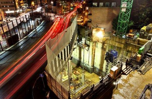 Köln muss Baugrube fluten