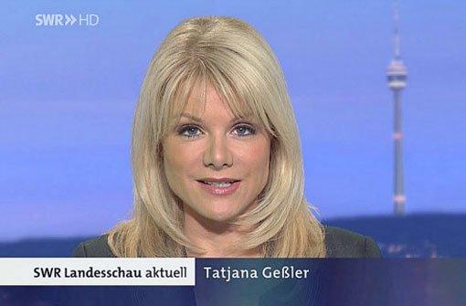 Während einer Live-Sendung bekam Tatjana Geßler plötzlich Schluckauf - und wurde ihn nicht mehr los. Foto: dpa