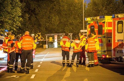 Rettungskräfte wurden zu ihrer Betreuung hinzugezogen. Foto: SDMG