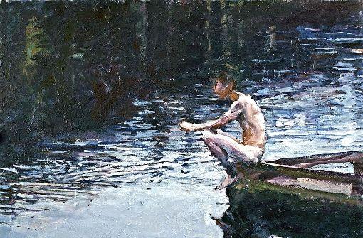 "In der Galerie Thomas Fuchs zu sehen: Martin-Jan van Santens ""Winkles"" – ebenso wie . . .     Foto: Galerie Thomas Fuchs"