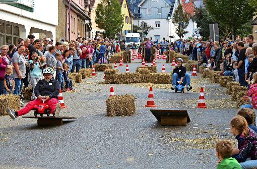 Bobbycar-Rennen mit großem Spaßfaktor