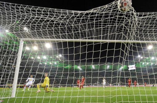 Borussia Mönchengladbach nach 4:0 gegen Mainz Zweiter