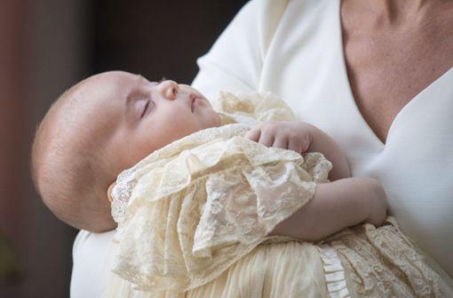 Prinz Louis in London getauft - Queen nicht dabei