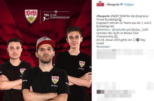 Auf dem virtuellen Rasen läuft es: VfB führt eSports Bundesliga an