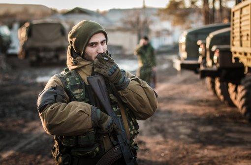 Debalzewo unter Separatisten-Kontrolle
