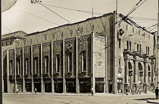 Der Ufa-Palast im Jahr 1947. Foto: Engel