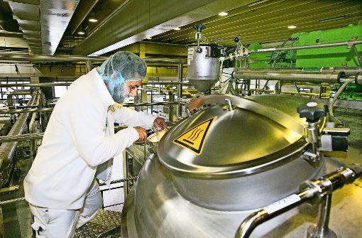 Proteinspritze für den Maschinenbau