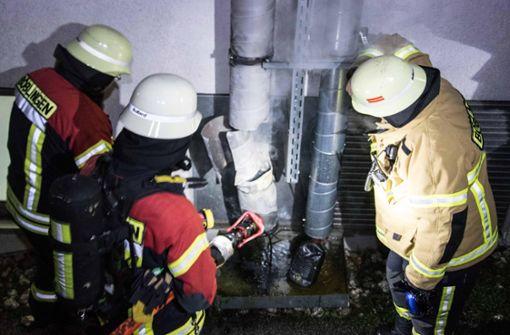 Das Feuer brach in einer Firma auf der Hulb aus. Foto: 7aktuell.de/ Gruber